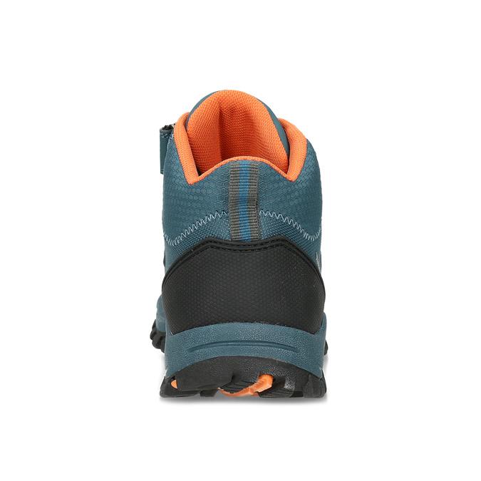 Modrá dětská kotníčková Outdoor obuv weinbrenner, modrá, 419-9621 - 15