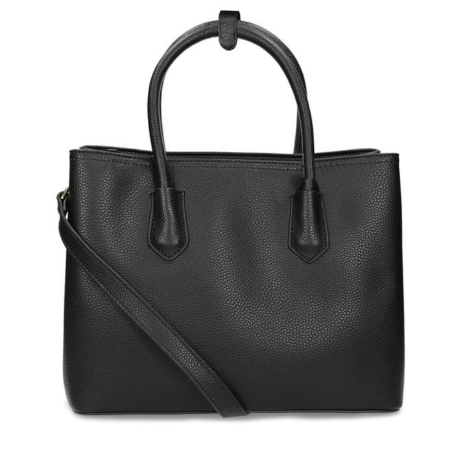 Černá dámská kabelka s popruhem bata, černá, 961-6970 - 16