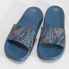 Modré pánské nazouváky se vzorem coqui, modrá, 872-9658 - 16