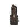 Hnědá kožená dámská Chelsea obuv bata, hnědá, 594-4655 - 15