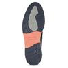 Šedé ležérní polobotky z broušené kůže bata, šedá, 826-2605 - 18
