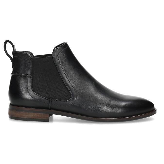 Kožená černá dámská Chelsea obuv bata, černá, 594-6644 - 19