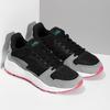 Černé dámské tenisky s šedými detaily adidas, černá, 501-6267 - 26