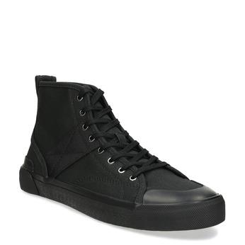 Pánské černé kotníčkové tenisky bata-red-label, černá, 841-6780 - 13