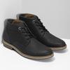 Hnědá pánská kotníčková obuv bata-red-label, hnědá, 821-6668 - 26