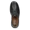 Černé pánské ležérní polobotky s prošitím bata, černá, 824-6911 - 17