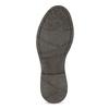 Vínová pánská kožená kotníčková Chelsea obuv bata, červená, 826-5630 - 18