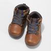 Hnědá dětská kotníčková obuv bubblegummers, hnědá, 111-3721 - 16