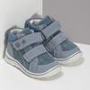Dětské tenisky z broušené kůže bubblegummers, modrá, 113-9638 - 26