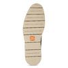 Béžová pánská kožená kotníčková obuv flexible, béžová, 823-8701 - 18
