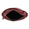 Červená dámská kožená Hobo kabelka bata, červená, 964-5233 - 15