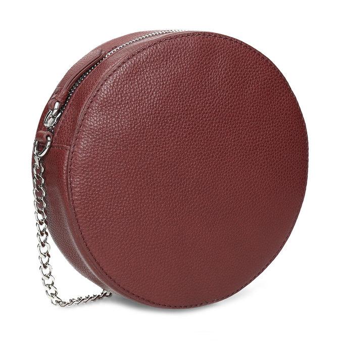 Dámská kulatá crossbody kabelka bata, červená, 964-5628 - 13