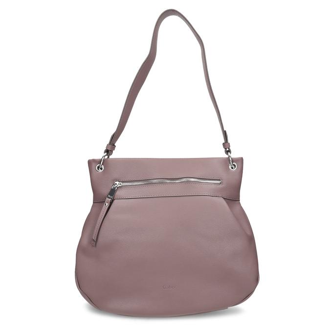 Růžová dámská kabelka s popruhem gabor, růžová, 961-5110 - 26