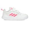 Bílé dětské tenisky s růžovými detaily adidas, bílá, 101-1291 - 19