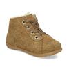 Dětská kožená zimní obuv se zateplením richter, hnědá, 123-8613 - 13