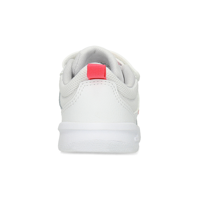 Bílé dětské tenisky s růžovými detaily adidas, bílá, 101-1291 - 15