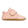 Růžová dětská kožená kotníčková obuv froddo, růžová, 124-5605 - 19