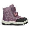Fialová dětská zimní obuv na suché zipy geox, fialová, 199-5136 - 19