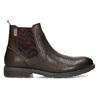 Kožená pánská kotníčková Chelsea obuv pikolinos, hnědá, 896-4816 - 19