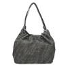 Dámská šedá kabelka se střapci gabor, šedá, 961-2106 - 16