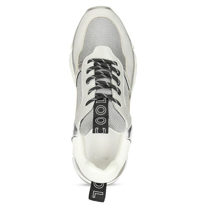 Dámské tenisky ve stylu Chunky Sneakers bata, šedá, 541-2612 - 17