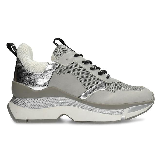 Dámské tenisky ve stylu Chunky Sneakers bata, šedá, 541-2612 - 19
