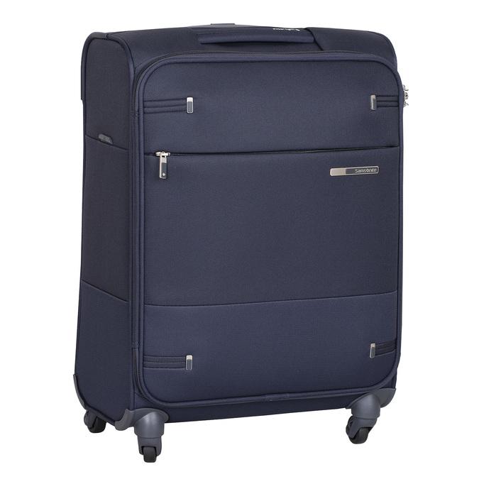 Modrý cestovní textilní kufr samsonite, modrá, 960-9037 - 13