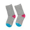 Šedé dětské ponožky s barevnými detaily bata, šedá, 919-2685 - 26