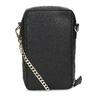 Kožená černá Crossbody kabelka bata, černá, 964-6626 - 16