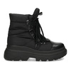 Dámská černá zimní obuv s masivní podešví bata, černá, 591-6625 - 19