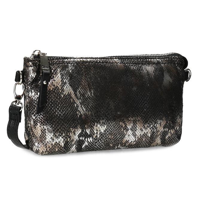 Dámská Crossbody kabelka s hadím vzorem gabor, stříbrná, 969-1103 - 13