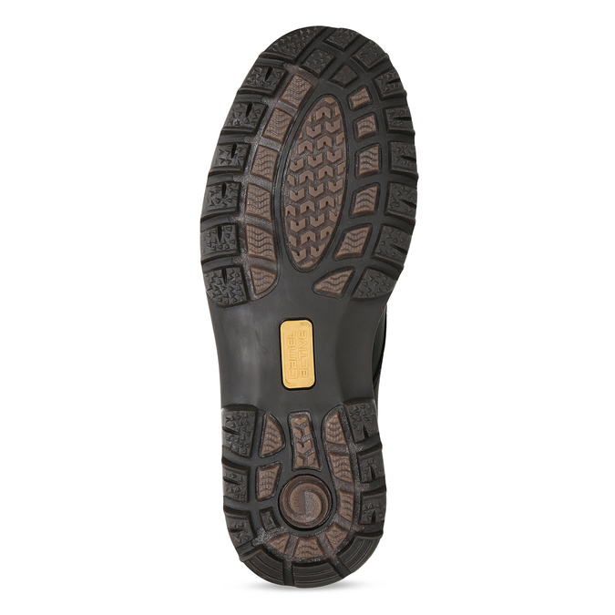 Hnědá pánská kožená kotníčková obuv camel-active, hnědá, 896-4596 - 18