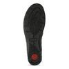 Dámská černá kožená kotníčková obuv comfit, černá, 594-6707 - 18