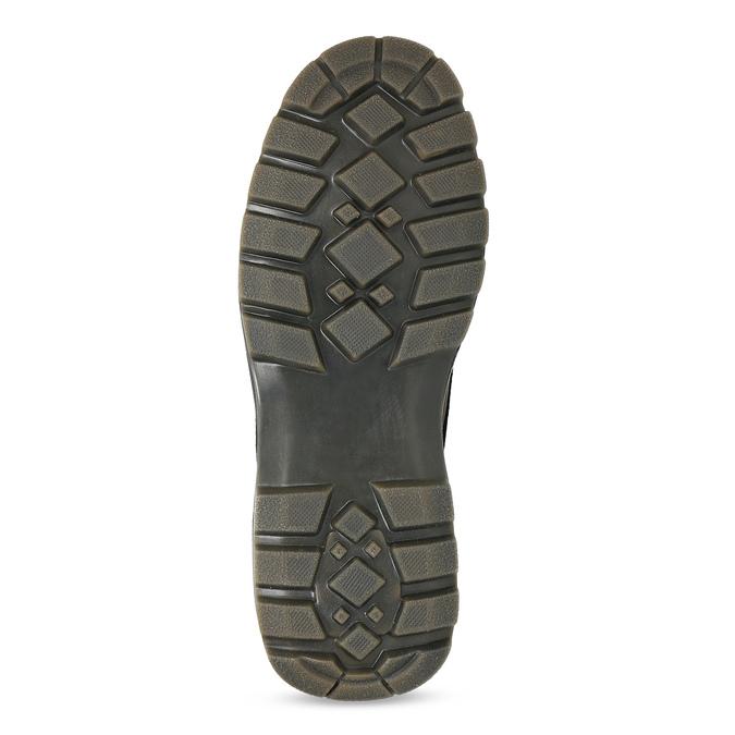 Kožená pánská hnědá zimní obuv bata, hnědá, 896-4753 - 18