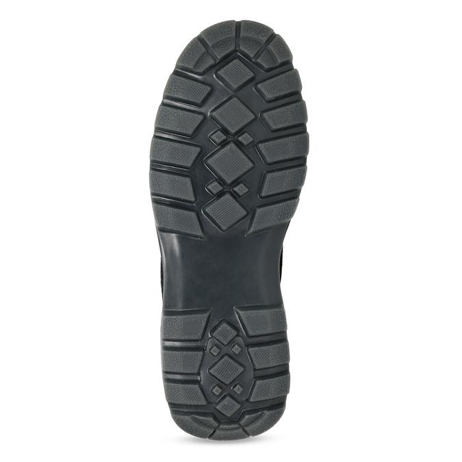 Pánská černá kožená zimní obuv bata, černá, 896-6753 - 18