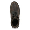 Kožená pánská hnědá zimní obuv bata, hnědá, 896-4753 - 17
