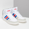 Pánské bílé kotníčkové tenisky adidas, bílá, 801-1327 - 26