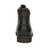 Pánská hnědá kožená kotníčková obuv bata, hnědá, 896-4748 - 15