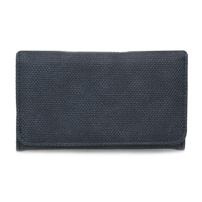 Modrá dámská peněženka bata, modrá, 941-9617 - 26