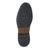 Pánská kožená kotníčková obuv bata, hnědá, 896-4745 - 18
