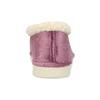 Fialová dámská domácí obuv se zateplením bata, fialová, 579-9641 - 15