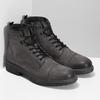Kožená pánská kotníčková obuv bata, hnědá, 896-4752 - 26