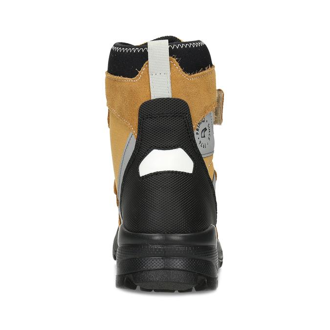 Žlutá dětské zimní obuv na suché zipy primigi, žlutá, 499-8617 - 15