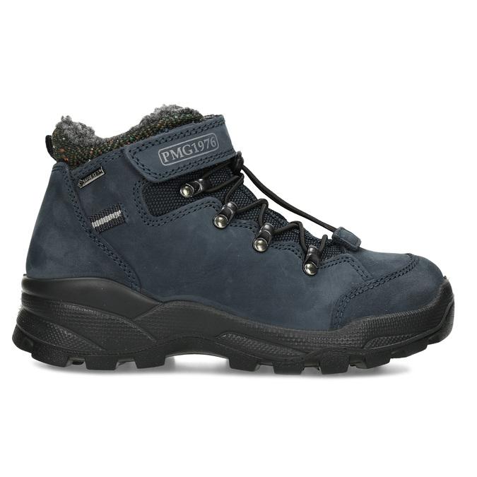 Modrá dětská zimní obuv z broušené kůže primigi, modrá, 416-9645 - 19
