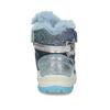 Modrá dětská zimní obuv se stříbrnými detaily primigi, modrá, 199-9614 - 15