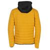 Žlutá pánská bunda s černou kapucí bata, žlutá, 979-8317 - 26