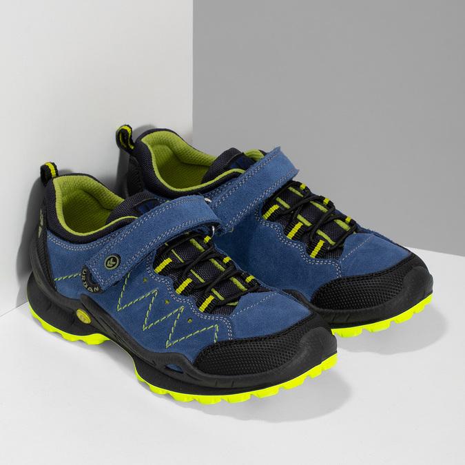 Tenisky v outdoorovém stylu mini-b, modrá, 413-9648 - 26
