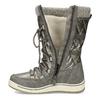 Metalické dámské sněhule s úpletem bata, bronzová, 599-8634 - 17