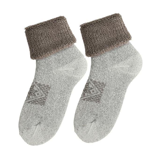 Dámské termo ponožky béžové matex, béžová, 919-8601 - 26