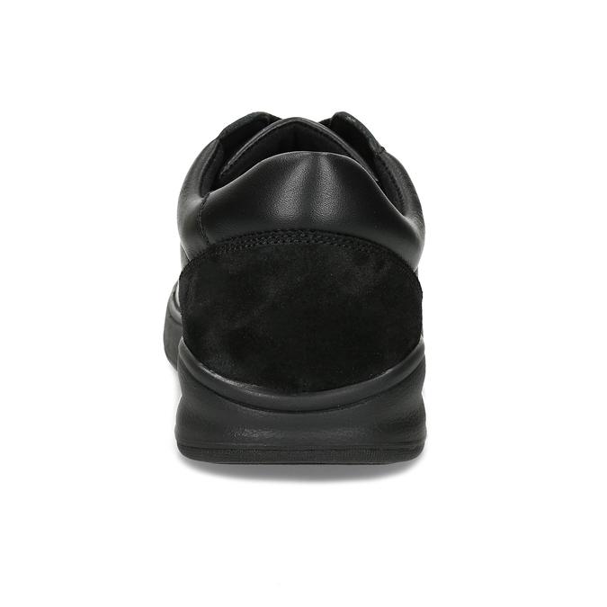 Pánská zdravotní obuv černá medi, černá, 854-6605 - 15